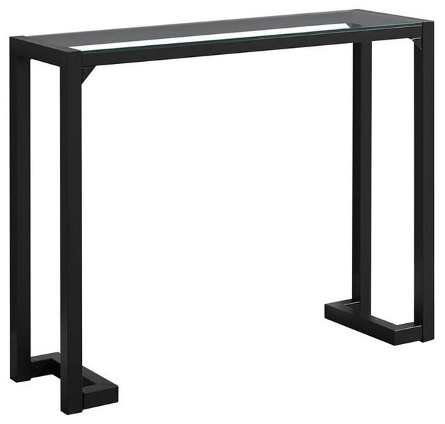 Monarch Console Table, Black.