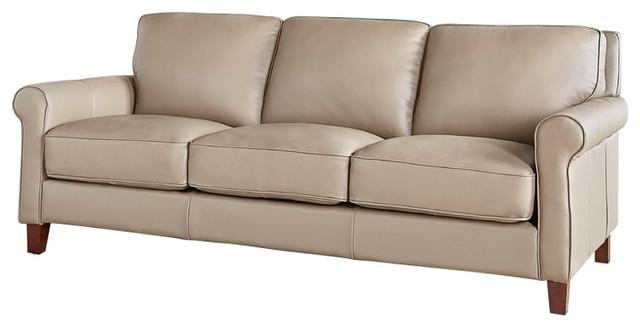 Hydeline New London 100 Leather Sofa