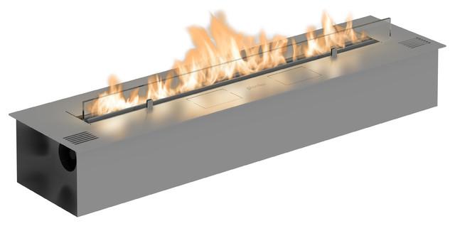 Fire Line Automatic 2 - Model E Ethanol Fireplace Burner Insert.