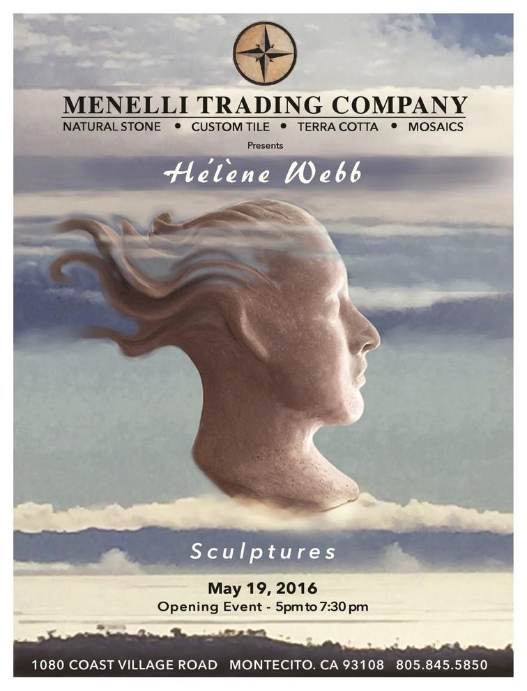 """Hélène Webb """"Meet the Artist"""" Exhibit May 19th 1080 Coast Village Road"""