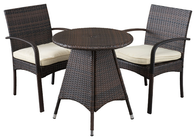 carmela outdoor 3piece dining set