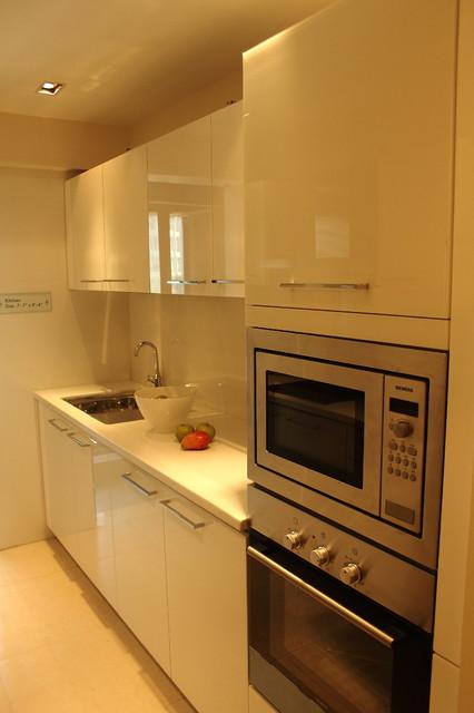 Residential Apartment In Mumbai Chembur Contemporary Kitchen Mumbai By Shahen Mistry