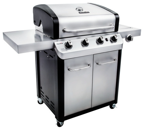 Char Broil Signature 530 4 Burner Cabinet Gas Grill