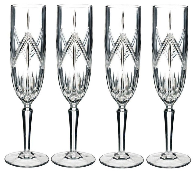 a6f1657b03e2 Waterford Marquis Lacey Flute Glasses