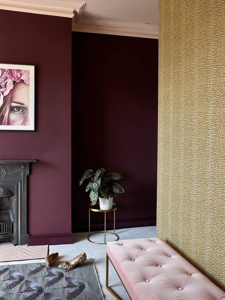 Home design - eclectic home design idea in London