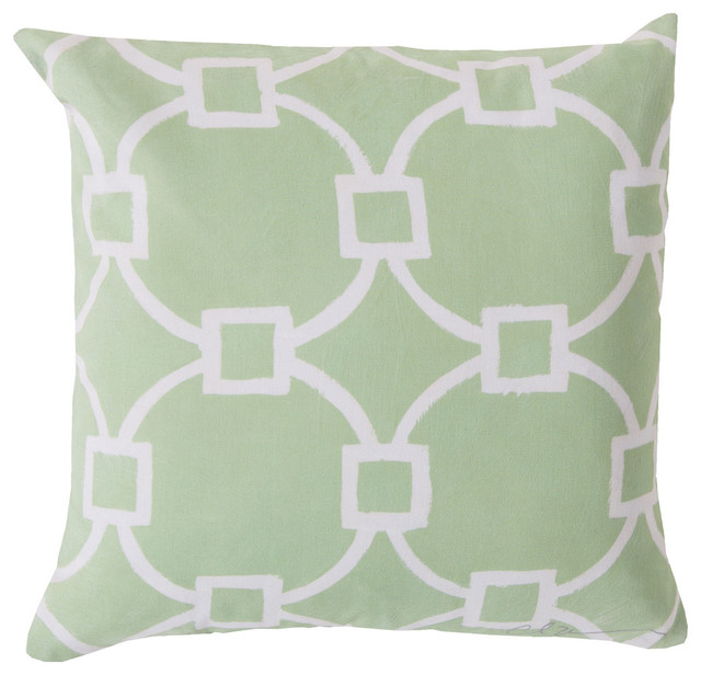 Square Decorative Pillow RG-047 - Contemporary - Outdoor Cushions And Pillows - by ShopFreely