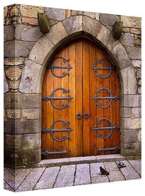 Old Wooden Door 9x11x1