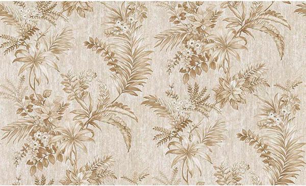 Dis Legolas Beige Botanical Wallpaper Swatch