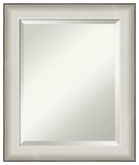 Bathroom Vanity Mirror Allure White Farmhouse Bathroom Mirrors By Amanti Art