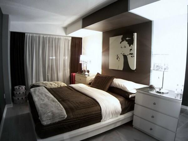Decorating A Small Toronto Condo Contemporary Bedroom