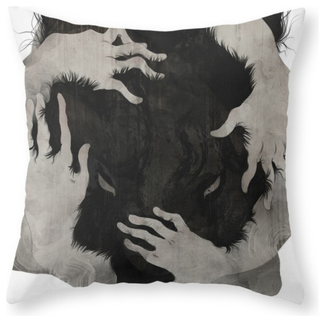 Society6 Wild Dog Throw Pillow Eclectic Decorative