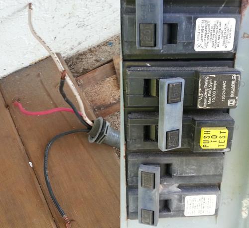 very large wires exposed rh houzz com wiring black wire socket wiring black wire white wire blue wire