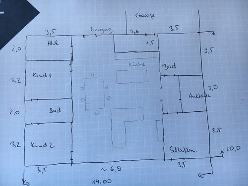 Neubau Bungalow_Hilfe für Grundrissplanung benötigt