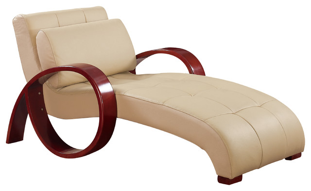 Global Furniture Relax Chaise Cappuccino.