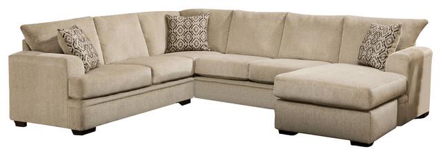 Atherton Right Sofa Chaise Cornell Platinum - Transitional ... on emerald home furniture, williams home furniture, tracy home furniture, madera home furniture, davis home furniture,