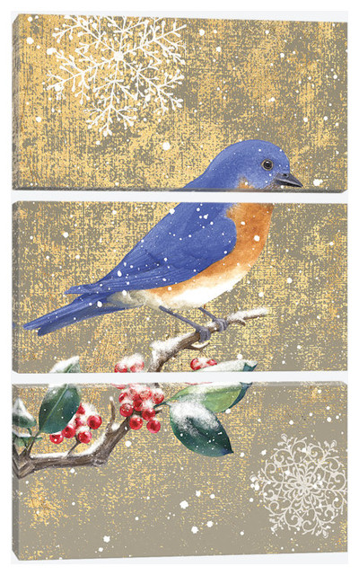 Quot Bluebird Ii Quot By Beth Grove Canvas Print Contemporary