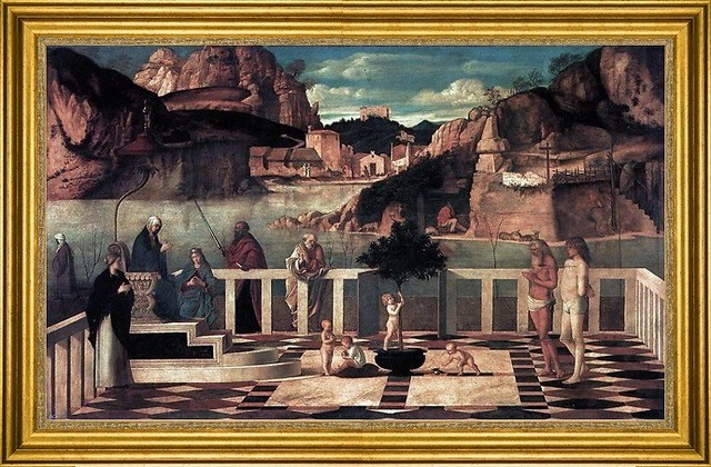 Giovanni Bellini 16 X24 Framed Canvas View In Your Room Houzz