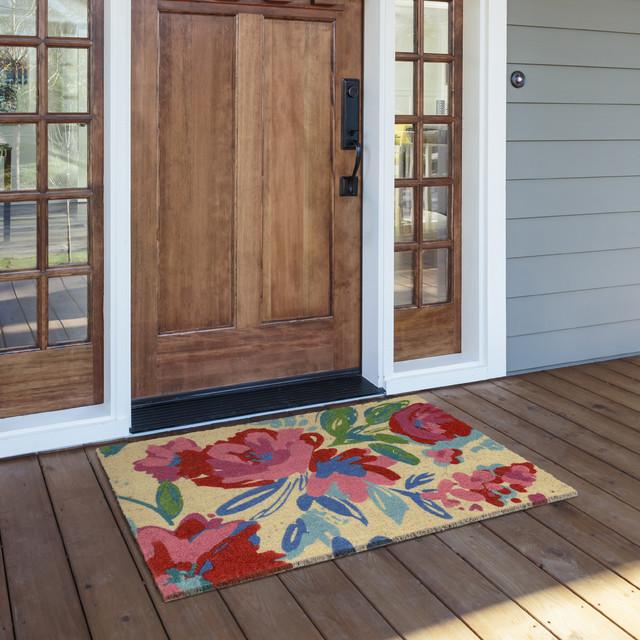 """24""""x36"""" Belinda Coir Fiber Doormat by Kosas Home"""