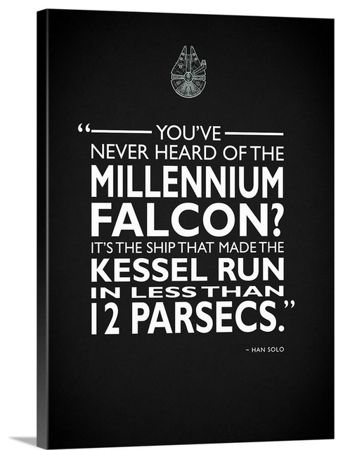 """Star Wars - Millenium Falcon"""" Wrapped"""