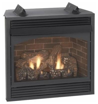 "Vail 36"" Millivolt Vent Free Premium Fireplace."