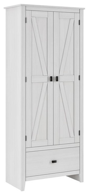 A Design Studio Glen Orchard 30 Inch Wide Storage Cabinet Beach Style Cabinets By Dorel Home Furnishings Inc