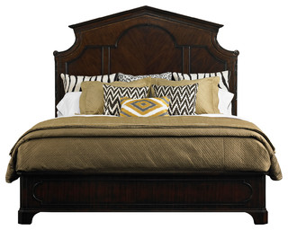 Stanley Furniture Charleston Regency Cathedral Bed - Traditional ...