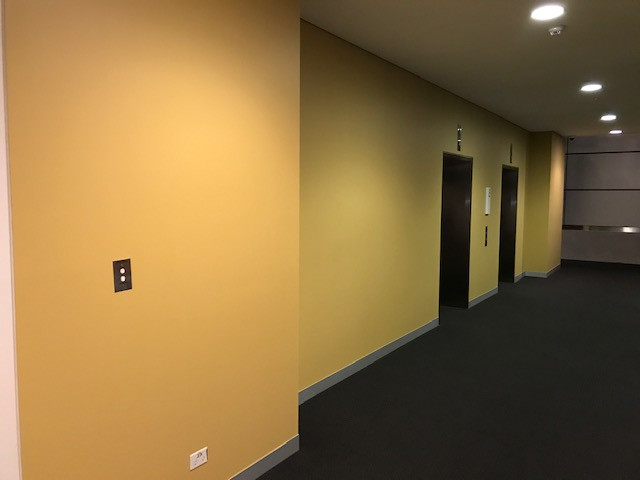 After hours painting - offices & bank branches