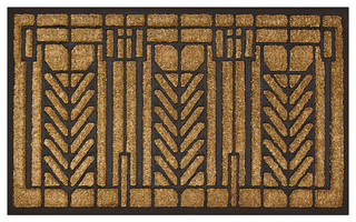 Tree Of Life Doormat Craftsman Doormats By Maclin Studio