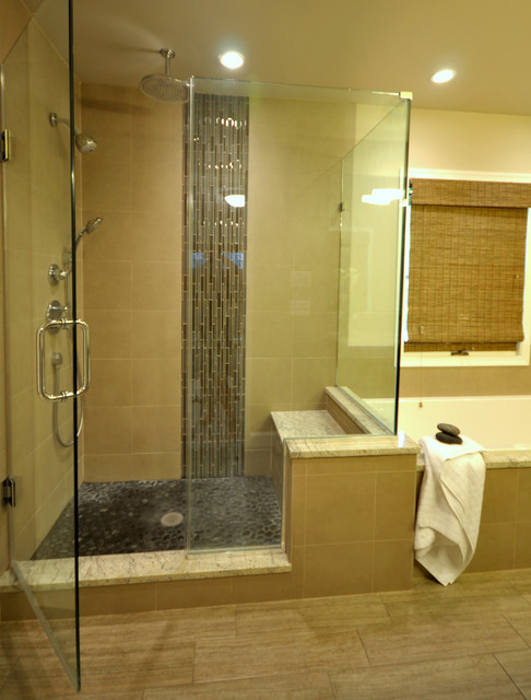 tile bathroom shower pictures remodeled master bathroom in bethesda md contemporary 20816