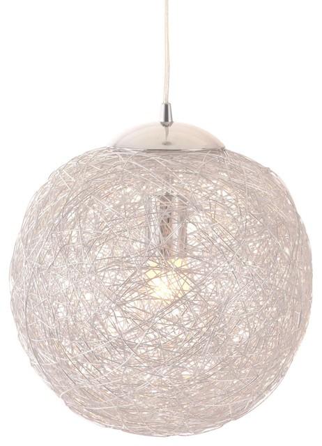Opulence Ceiling Lamp, Aluminum.