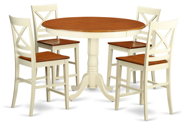 Harrison Counter Height Dining Table Set 5 Pieces  : transitional dining sets from www.houzz.com size 640 x 434 jpeg 59kB