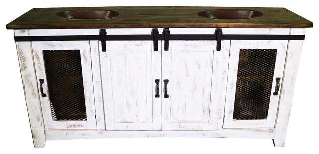 anton barn door bathroom vanity farmhouse bathroom. Black Bedroom Furniture Sets. Home Design Ideas