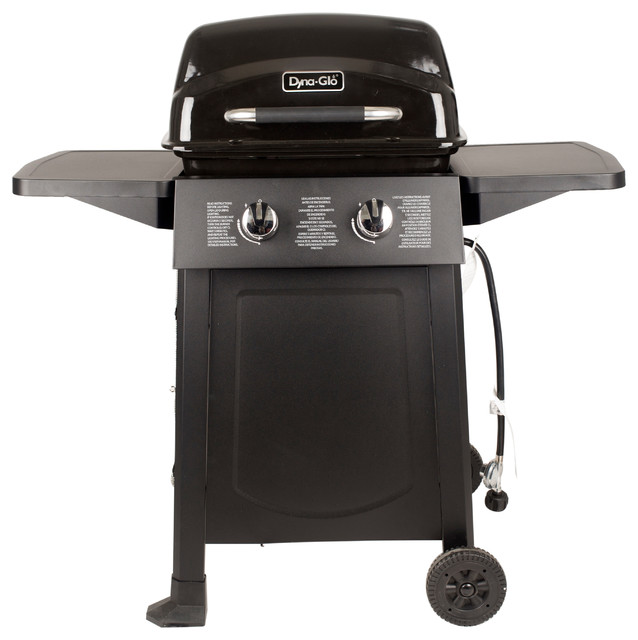 Dyna-Glo 2 Burner Open Cart Propane Gas Grill.