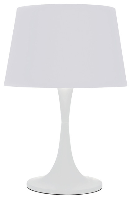 Ideal Lux London Table Lamp, Large, White