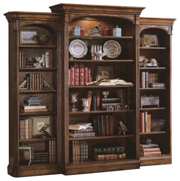 Hooker Furniture Brookhaven Bookcase, Left Traditional Bookcases