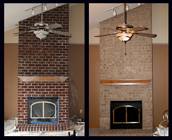 Wisconsin Brick Stain Project - Modern - Chicago - by Brick ...
