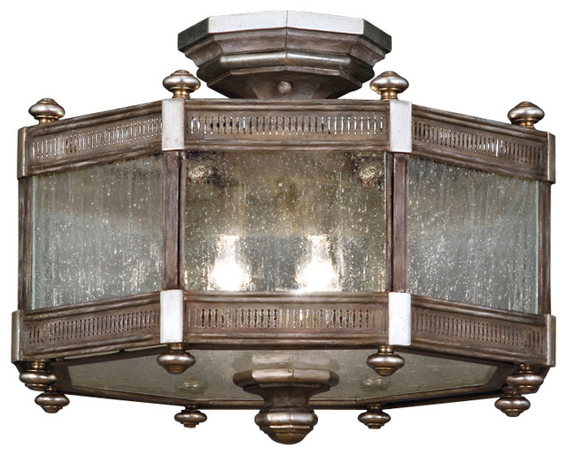 Fine Art Lamps Villa Vista Semi-Flush Mount, 809240ST mediterranean-flush- mount