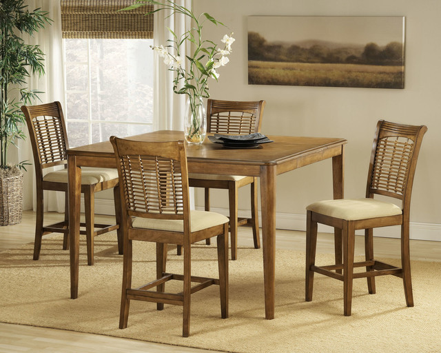 Brilliant Bayberry 5 Piece Counter Height Dining Set Download Free Architecture Designs Scobabritishbridgeorg