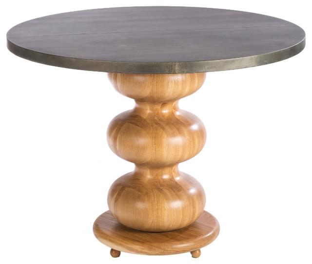 Greenwich Zinc Top Dining Table Industrial Dining  : industrial dining tables from www.houzz.com size 640 x 542 jpeg 47kB