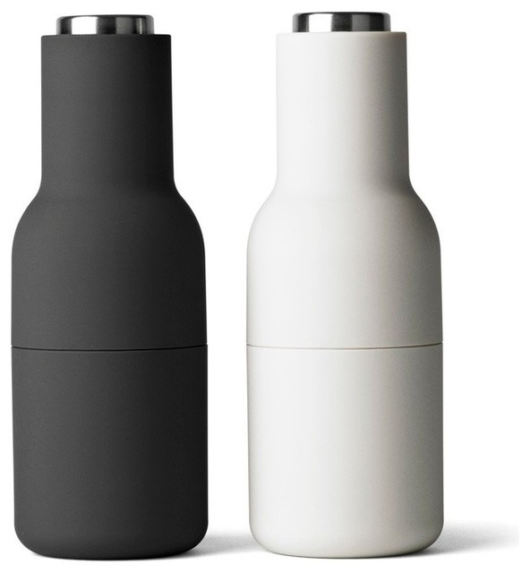 Shop Houzz Menu Menu Bottle Grinder Set Of 2 Salt And