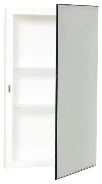 Zenith Frameless Prism Beveled Medicine Cabinet.