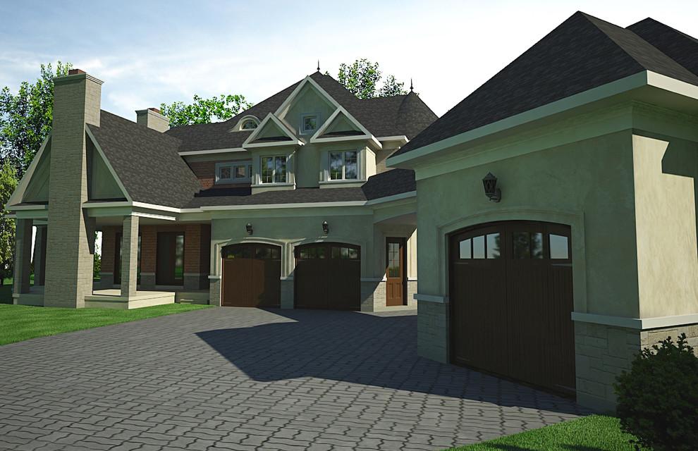 Custom French Villa