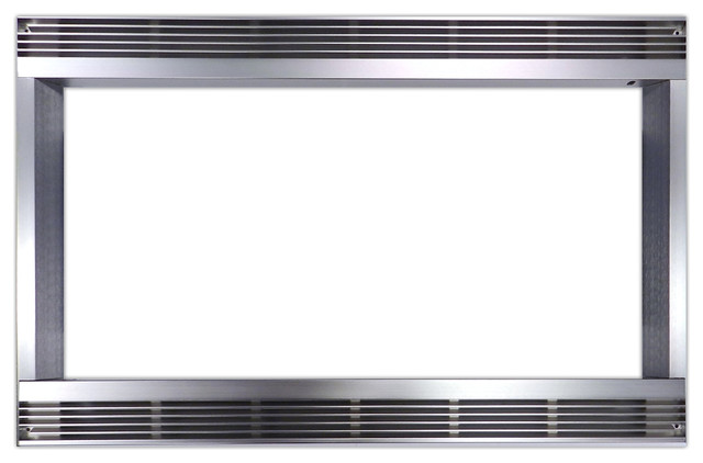 27 Built In Trim Kit For Sharp Microwave R651zs Stainless Steel