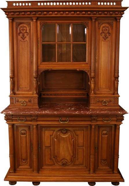 Consigned 1900 French Renaissance Buffet, Elegant by EuroLuxHome