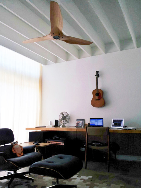 Haiku Ceiling Fans Modern Home Office Library Dallas by
