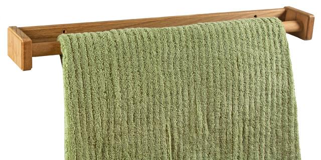 Teak Towel Rack, Small