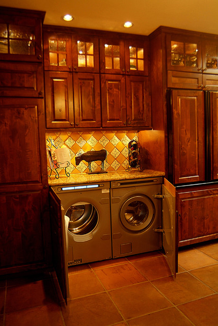 Spanish Kitchen Remodel traditional