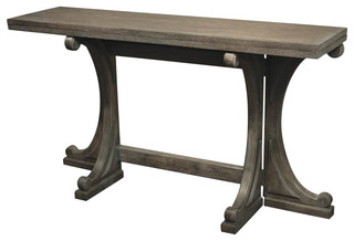 Brilliant Riverside Furniture Juniper 54 Gateleg Console Table Charcoal Traditional Console Tables By Homesquare Onthecornerstone Fun Painted Chair Ideas Images Onthecornerstoneorg
