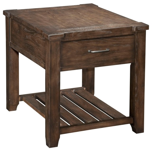Broyhill Attic Retreat End Table Farmhouse Side Tables And End Tables By Broyhill
