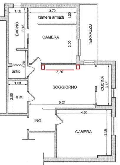 Idee varie di arredamento soprattutto soggiorno for Idee planimetria casa